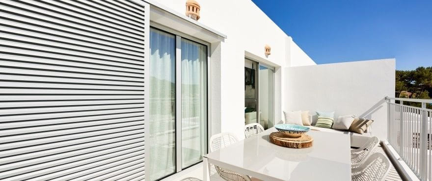 New apartments with large terraces in Canyamel