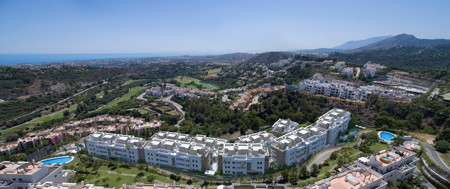 Botanic, Exclusive apartments in Benahavis, Costa del Sol