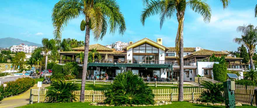 Club House in Los Arqueros Golf