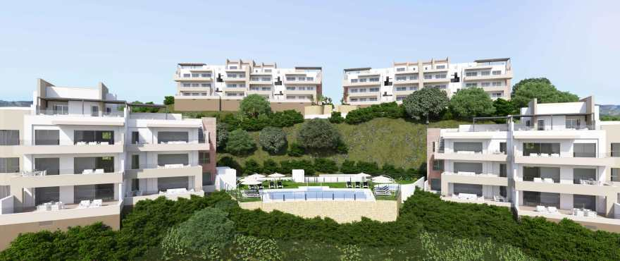 Grand View: New apartments in the Cala Golf Resort, between Marbella and Fuengirola