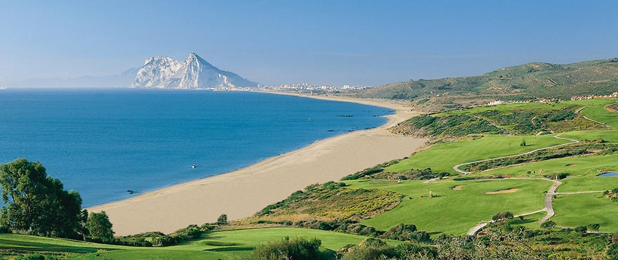 Gibraltar is just 25 kilometres from the apartments for sale