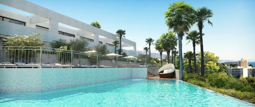 Cala Vinyes Hills, new townhouses with communal pool in Mallorca