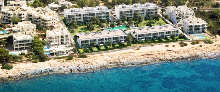 Sunset Ibiza, new apartments overlooking the sea