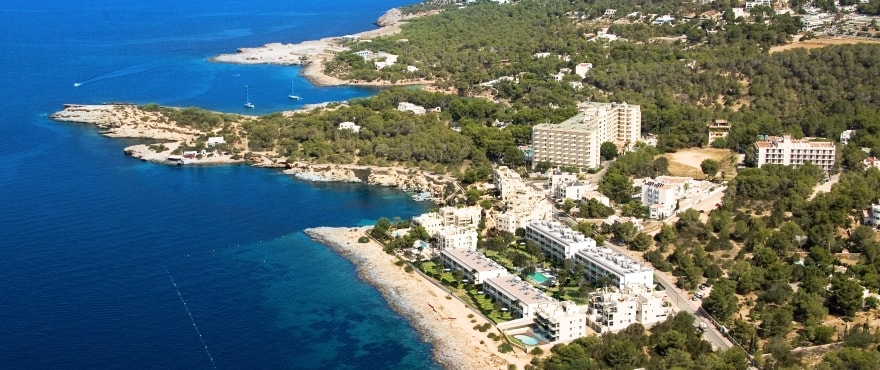 New apartments next to Cala Gració, Ibiza