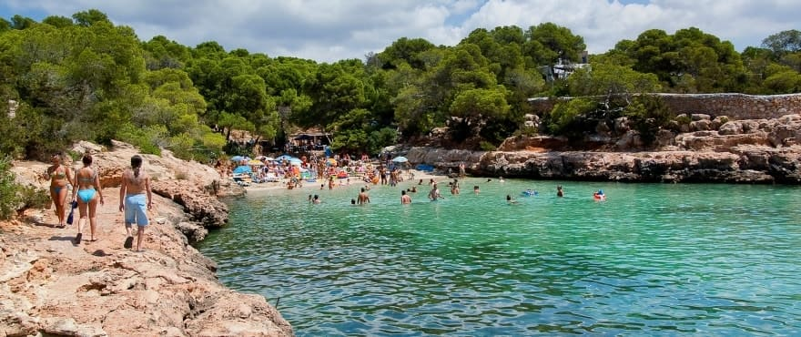 New apartments next to Cala Gracioneta, Ibiza